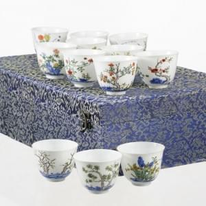 Suite de 12 month cups, Chine