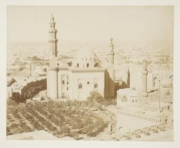 EGYPTE. ZANGAKI (C. et G.) : Album comportant 56 photographies collées sur...