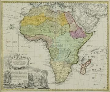HOMMAN: Africa, Secondum Legitimas Projectionis