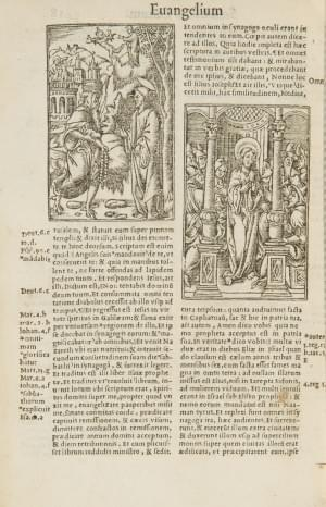 Biblia Picturis Illustrata. Paris, Regnault, 1540;