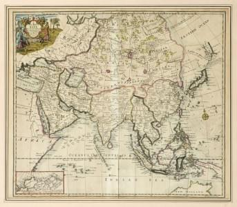 SENEX: A New Map of Asia.