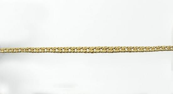 Collier à maille plate